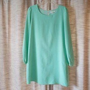 5/$25 Sugar Lips Dress Mint Green Medium